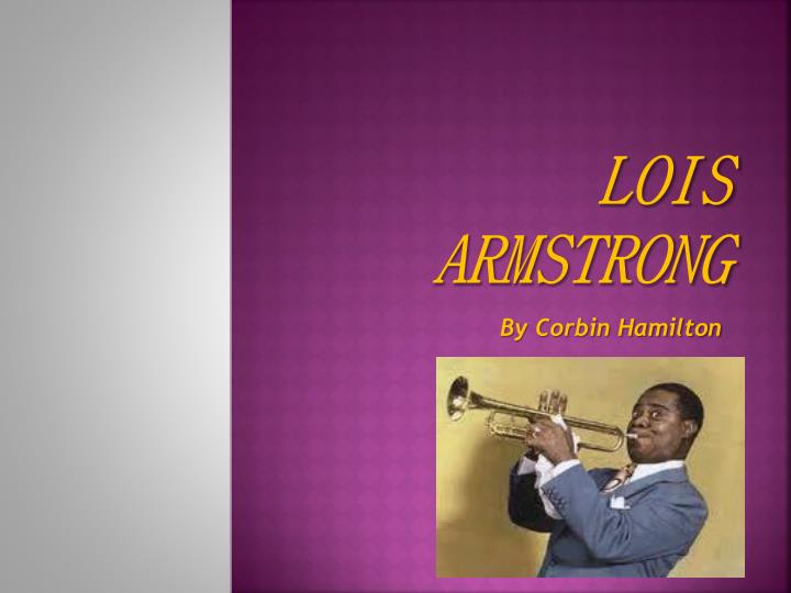 lois armstrong n.