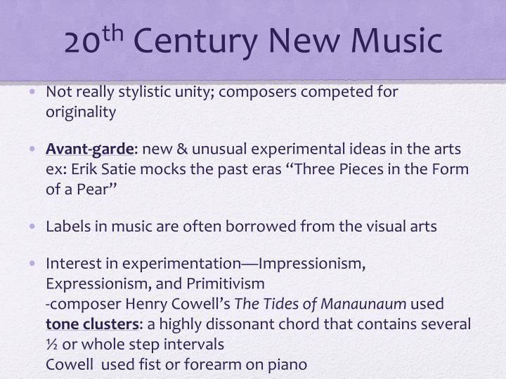 primitivism music composers