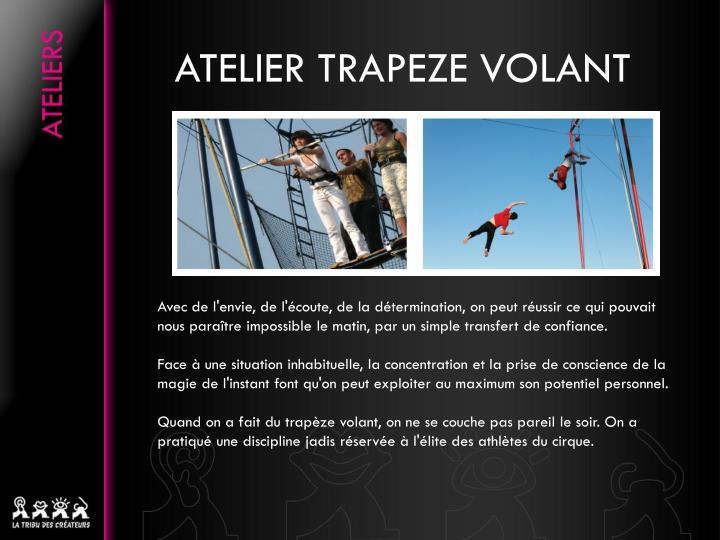 Atelier trapeze volant1