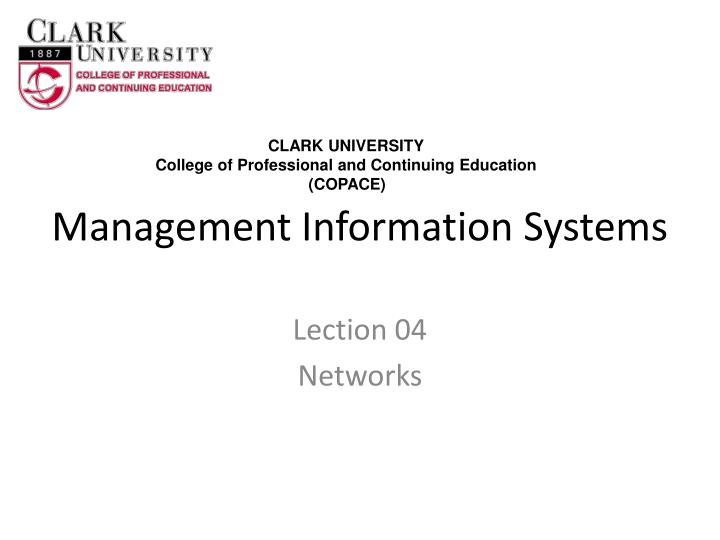 management information systems n.