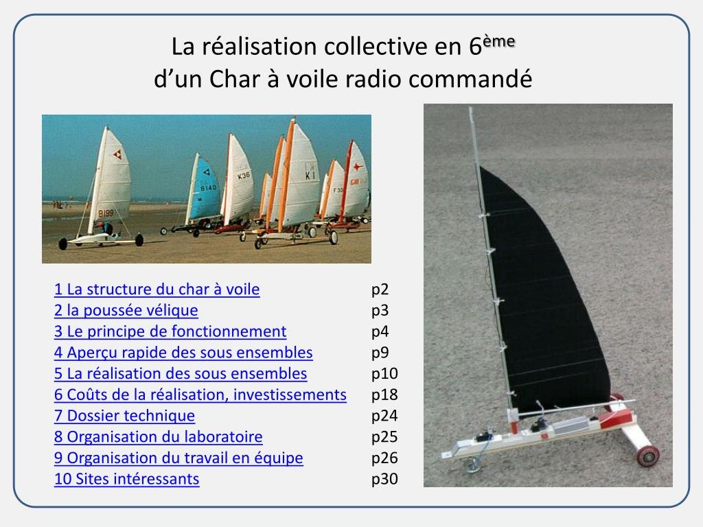 Ppt La Realisation Collective En 6 Eme D Un Char A Voile Radio Commande Powerpoint Presentation Id 2280800