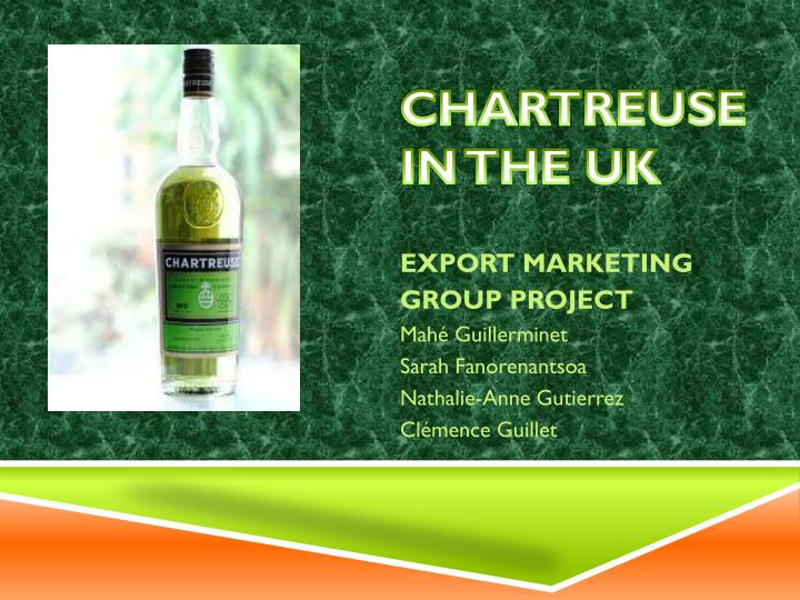 chartreuse in the uk n.