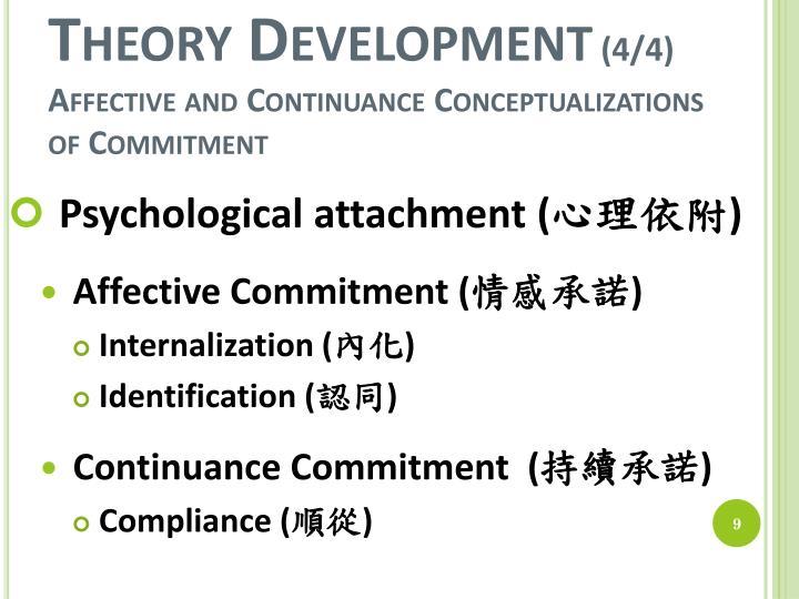 Theory Development