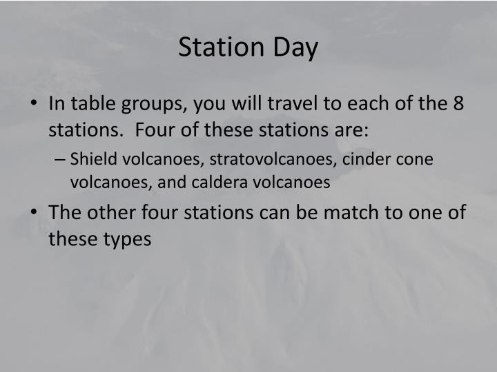 Station Day