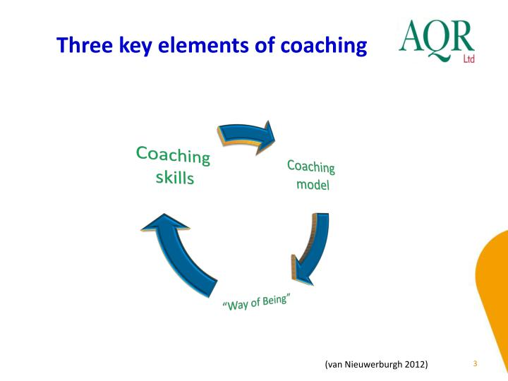 Three key elements of coaching