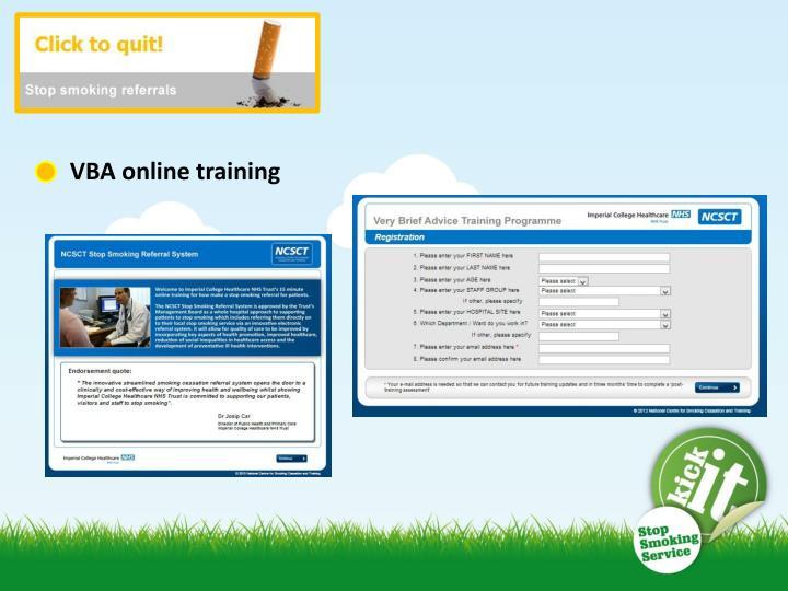 VBA online training