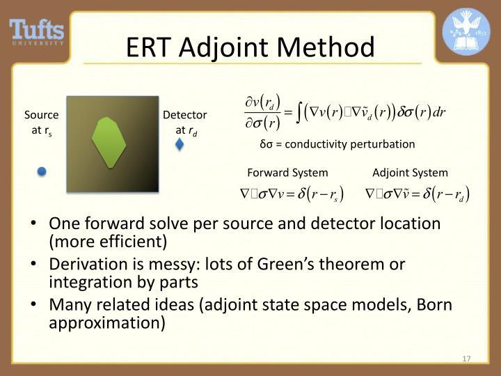 ERT Adjoint Method