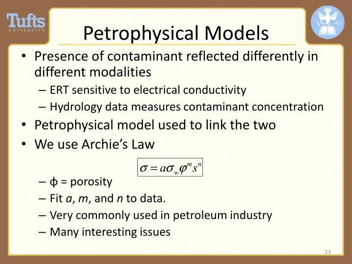 Petrophysical