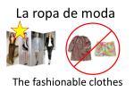 la ropa de moda