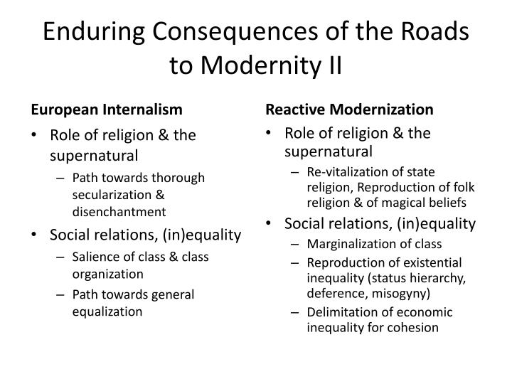the consequences of modernity pdf