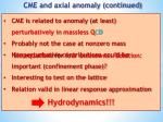cme and axial anomaly continued2