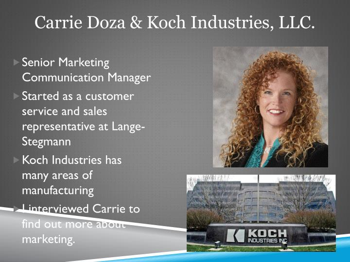 Carrie doza koch industries llc1