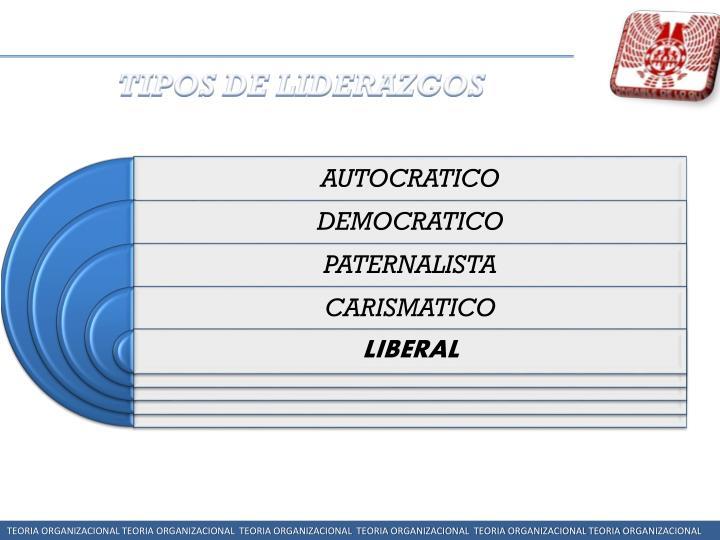 TIPOS DE LIDERAZGOS