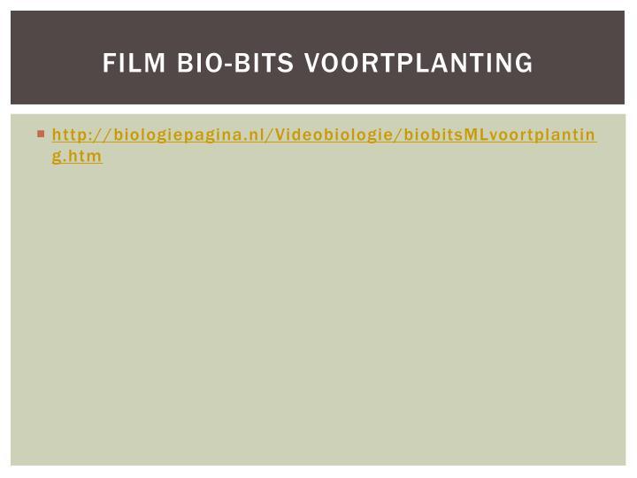 Film bio-bits voortplanting
