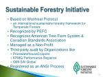 sustainable forestry initiative1