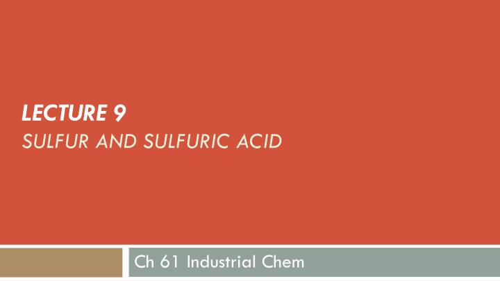 a look at sulfuric acid industry in ontario Dilute sulfuric acid is a strong acid and a good electrolyte it is highly ionized, much of the heat released in dilution coming from hydration of the it is also one of the least expensive acids, which makes it a favorite of industries around the world it is used in the production of fertilizers and as an.