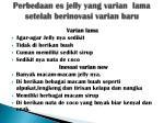 perbedaan es jelly yang varian lama setelah berinovasi varian baru