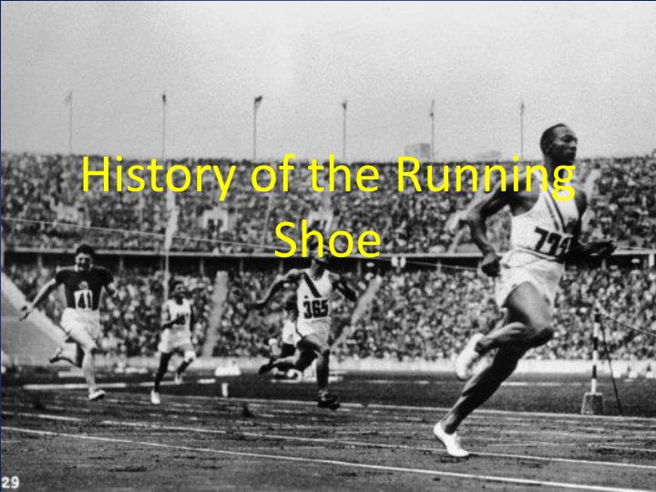 history of the r unning s hoe n.