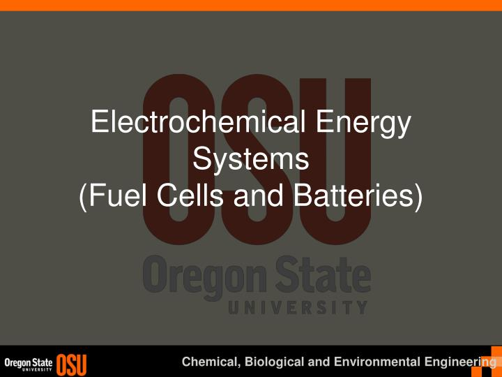 electrochemical energy systems fuel cells and batteries n.