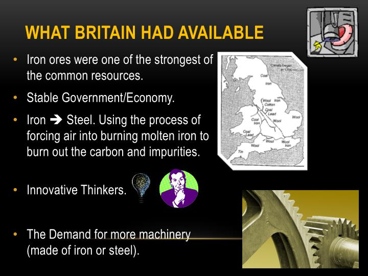 What Britain had available