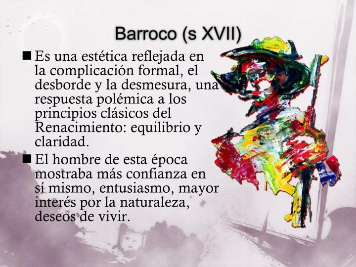 Barroco (s XVII)