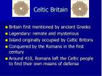 celtic britain