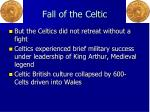 fall of the celtic
