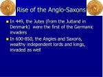 rise of the anglo saxons