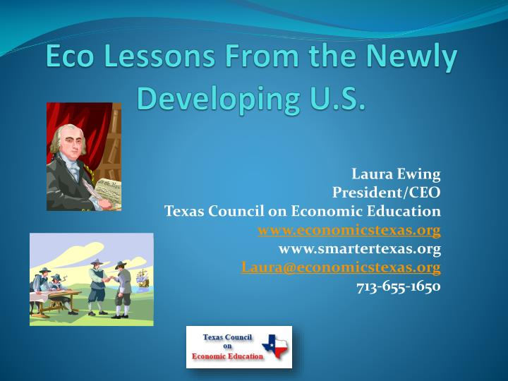 eco lessons from the newly developing u s n.
