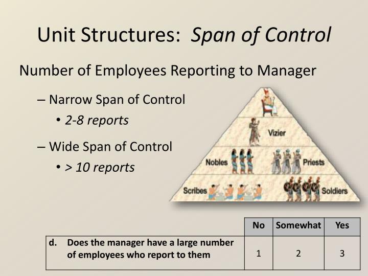 Unit Structures