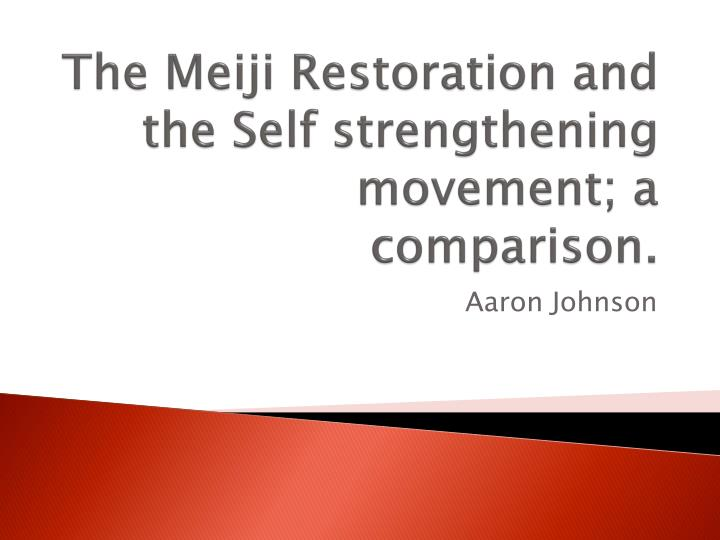 meiji restoration thesis statement Joe pisano, victor podvalny, and marc maquiling mrhaller ap world 19 january 2016 the french revolution and meiji restoration outline thesis statement: the french revolution and the meiji restoration both radically changed the social and political structure of their respective nations, due to internal and external pressures to change.