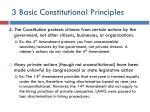 3 basic constitutional principles1