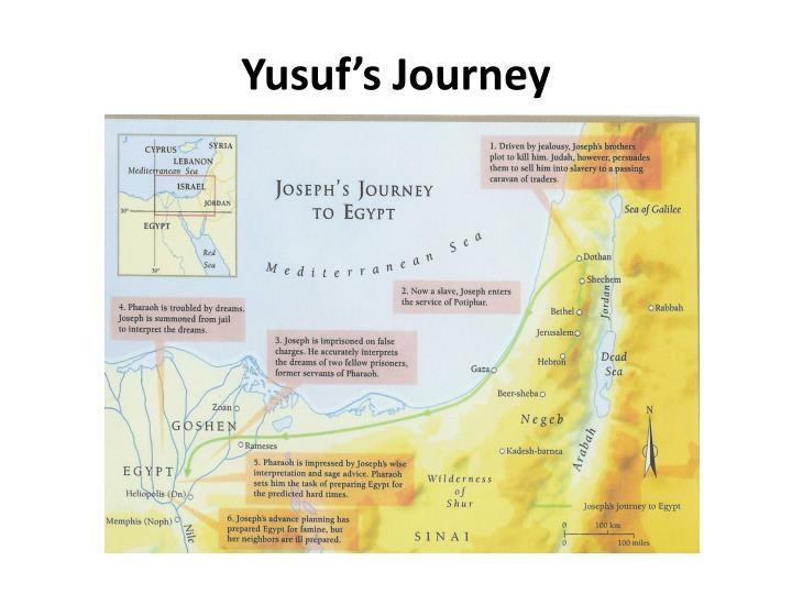 Yusuf's Journey