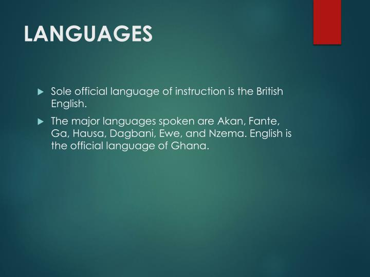 english the official language To help connect with those other countries, the government is planning a major push during the new year to establish english as an official language along with a type of mandarin chinese.