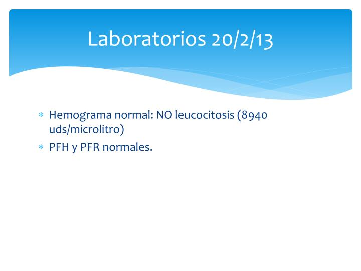 Laboratorios 20/2/13