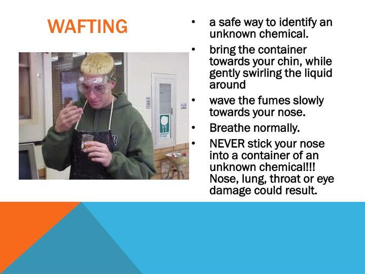 wafting