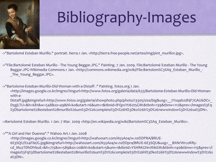 Bibliography-Images