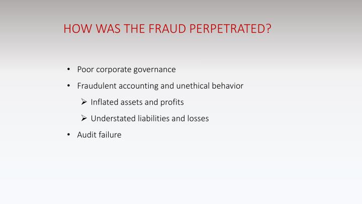 auditing issues enron case The accounting issues involved in enron's case are: 1) valuation issues with international assets 2) aggressive accounting treatments towards spes 3) negligence of information disclosure, and 4) dereliction of duty of internal auditing department.