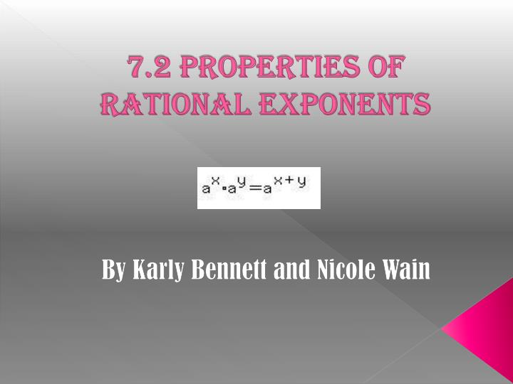 7 2 properties of rational exponents n.