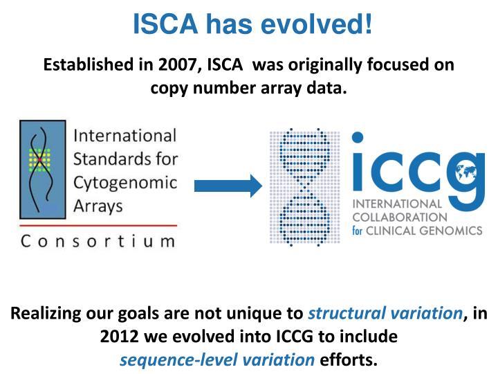 ISCA has