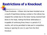 restrictions of a knockout1