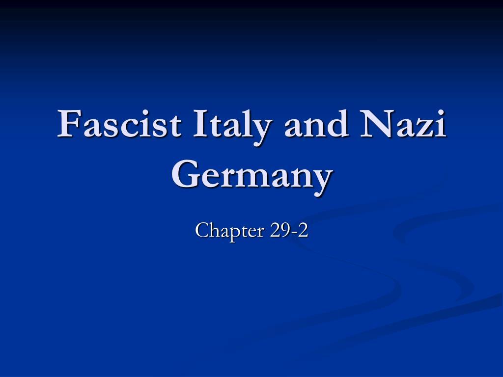 Italian fascism and homosexuality statistics