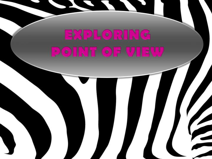 exploring point of view n.