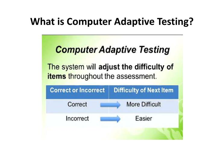 What is Computer Adaptive Testing?