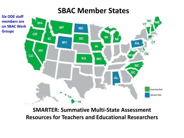 SBAC Member States