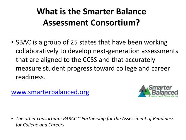 What is the Smarter Balance