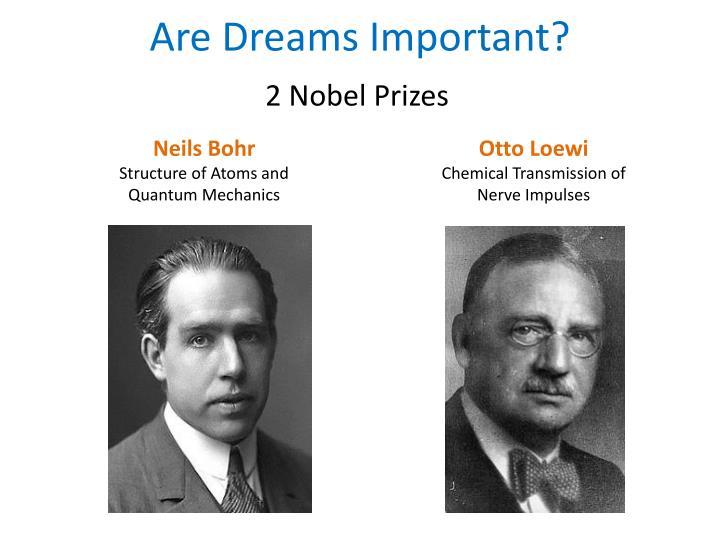 Are dreams important