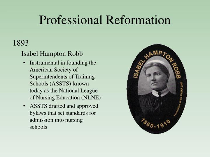 Professional Reformation