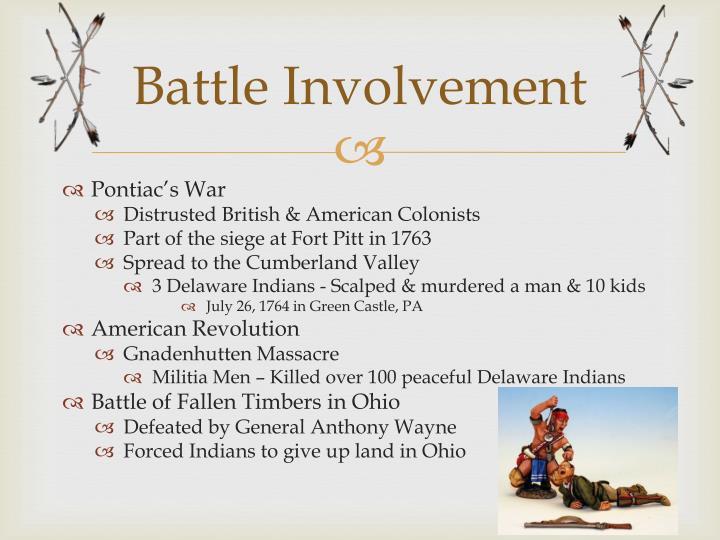 Battle Involvement