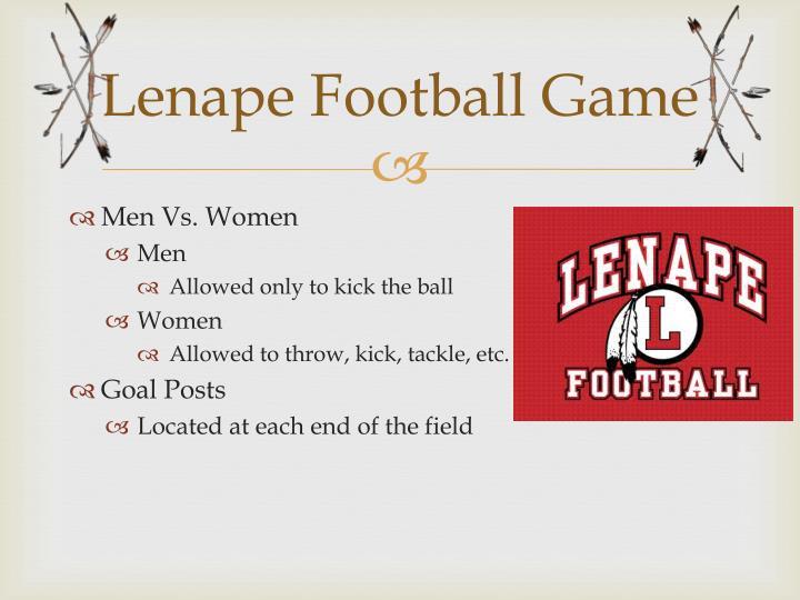 Lenape Football Game
